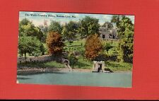 Kansas City,MO Missouri The Webb Country Home used 1911