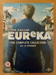 A Town Called Eureka The Complete Collection All 76 Episodes (23 Disc)