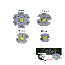 1 piezas cree XML2 XM-L2 T6 U2 10 W Blanco Alta Potencia LED Chip con 12/14/16/20mm tarjeta de circuito impreso