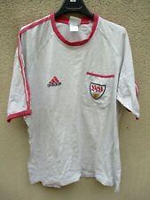 Tee-Shirt VfB STUTTGART vintage shirt trikot training ADIDAS 90'S coton L