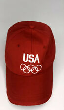 team usa olympic hat Red Asjustable Cap Sports Team Usa c45