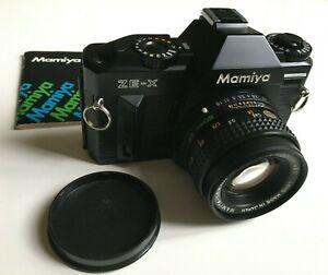Mamiya ZE-XAnaloge SLR mit Mamiya Sekor EF 50mm f/1.7 Neuwertig / Getested