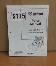 Bobcat S175 Skid Steer Loader Parts Manual Book Part 6904271