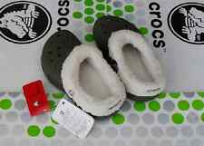 CROCS MAMMOTH BLITZEN POLAR KIDS BAYA SHOE~Army Green White~Toddler C8/9~NEW