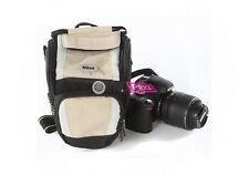 Genuine Nikon Camera Shouder Bag DSLR D3200 D5200 D7100 18-55mm Body Kit LENS US