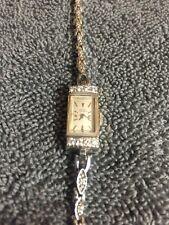 Ladies Girard Perregaux Diamond 14k White Gold Watch And Band Total Wt 15.8 Gram