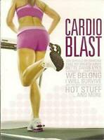 Cardio Blast Audio Music CD For Fitness Training Songs For Workouts Motivation !