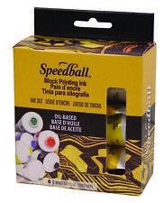 Speedball Oil-Based Block Ink Starter Set (3476)