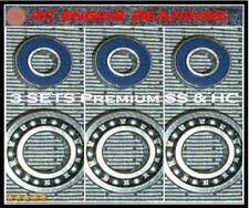 3 PAC SAITO FA 80 82 91 OSFX46 55AX SX50 RC Engine BEARINGS PREMIUM SS/HC ABEC3