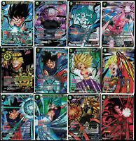 Dragonball Super Card Game Cross Worlds R SR SPR SCR Choose Your Cards - BT3
