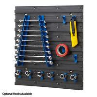 Plastic Louvre Panel Parts Bins Hanging Storage Shed Garage Tool Organise BiGDUG