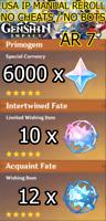 [AMERICA] Genshin Impact Account, 6000+ PRIMO GEMS, 22 FATES, AR 7, NA, STARTER