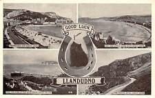 Wales Llandudno Black Kitten Cat Horseshoe Good Fortune Luck Orme Bay Pier