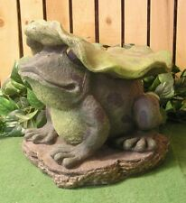 Giant Frog Toad Lilly Pad Seat Stool Childs Bench Latex Fiberglass Mold Concrete