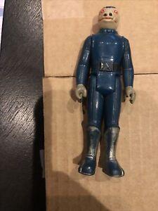 Star Wars Vintage 1978 BLUE Snaggletooth TOE DENT Figure Original Kenner