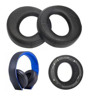 Für Sony Ohrpolster Kopfhörer Blue SONY Gold Wireless Stereo PS3 PS4 7.1 L R