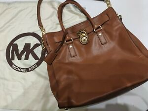 MICHAEL KORS Genuine Hamilton Large Leather Tote Bag