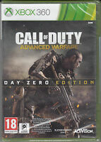 Call of Duty Advanced Warfare Day Zero Edition Xbox 360 Brand New Factory Sealed
