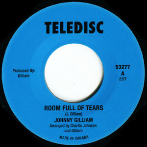 JOHNNY GILLIAM  ROOM FULL OF TEARS  Soul Northern Motown