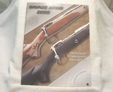 Savage Arms 2000 gun catalog