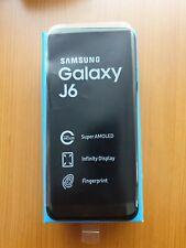 Samsung Galaxy J6 (2018) SM-J600F - 32GB - Nero (Sblocatto) (Dual SIM)
