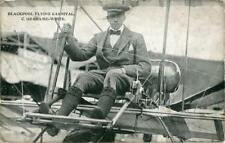 PRINTED POSTCARD OF GRAHAME-WHITE AT THE BLACKPOOL FLYING CARNIVAL, LANCASHIRE