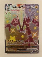 Toxtricity Vmax SV113/SV122 Full Art Ultra Rare Shining Fates Pokémon Nm-Mint