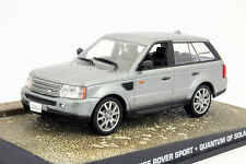 Range Rover Sport James Bond Movie Car Ein Quantum Trost silber 1:43 Ixo
