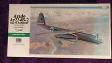 Hasegawa 1:48 Arado Ar 234B-2 'Blitz Bomber' Model Kit JT83 Ar234B *SEALED BAG*