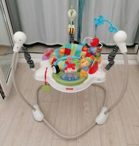 Fisher price jumperoo discover and grow bouncer baby toy activity jumping