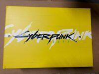 Cyberpunk 2077 Collector's Edition Hardcover Artbook Night City Samurai+ Box