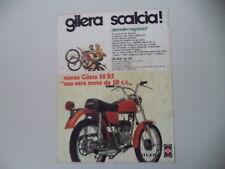 advertising Pubblicità 1975 MOTO GILERA 50 RS