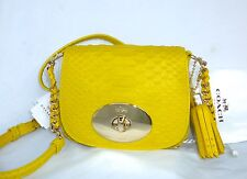 NWT COACH LIV CROSSBODY IN PYTHON EMBOSSED LEATHER SHOULDER BAG 35199