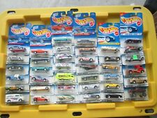 Vintage 1994-98 Hot Wheels Lot of 38 Cars & Trucks 1:64 Diecast on Cards