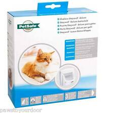 Staywell Petsafe 400 Magnetic Cat Flap / Pet Door Catflap Multi Key Options