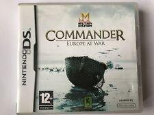 DS Commander Europe At War - NintendoDS
