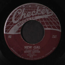 BOBBY LESTER & MOONLIGHTERS: Hug And A Kiss 45 (clean VG, sl lbl wear)