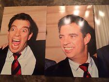 Morton Downey Jr. 7 Picture Lot!! 4x6