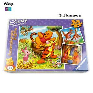 Ravensburger Disney Winnie the Pooh Jigsaws X 3 | NEW  Gift Idea