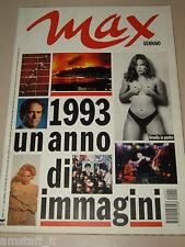 ORNELLA MUTI POSTER=UN ANNO DI IMMAGINI MODA MUSICA ECT=MAGAZINE MAX ITALY=1994