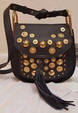 CHLOE embellished Hudson shoulder bag BLACK NEW NWT  SMALL