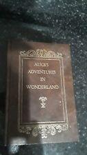 VINTAGE ALICE Alice's Adventures IN WONDERLAND BY LEWIS CARROLL Hard Cover BOOK