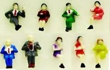 N Scale, Sitting People,  9 Pieces MDP-1334