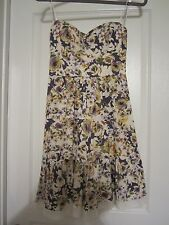 B. Darlin Adorable Strapless Flora w/Lace Hem Dress Size: 1/2