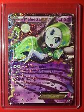 Pokemon card - Meloetta EX Legendary Treasures RC Collection RC21 =m Full Art OP