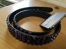 Fender Amp Belt Buckle w/Purple Stud 38 Belt