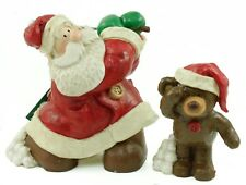 Midwest Santa Golfing Christmas Ornament Holiday Decoration w/Box