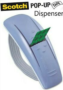 Scotch Pop-up Tape Hand-band Dispenser Blue NO TAPE INCLUDED