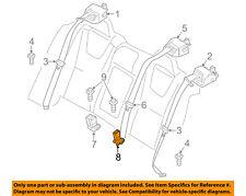VOLVO OEM 16-18 S60 Rear Seat Belts-Buckle Left 31351658