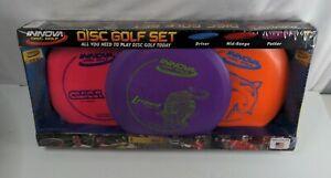 🆕 & Sealed INNOVA Dis Golf Starter Set 3-Pack DRIVER, MID-RANGE & PUTTER